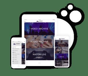 Church App | Media Content | Sermon Player